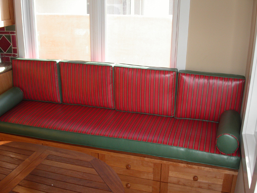 Custom Upholstered Windowseats